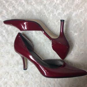 Anne Klein Heels cherry red Size 7